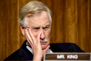 Angus King (Credit: AP/J. Scott Applewhite