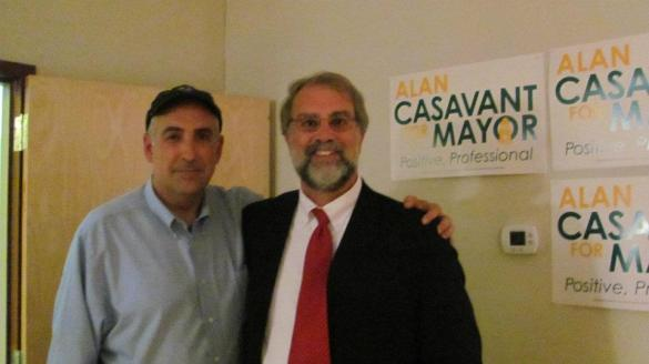 Me and Alan Casavant in 2011